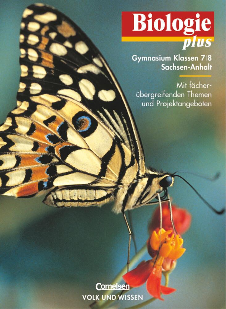 Biologie plus 7/8. Lehrbuch. Gymnasium. Sachsen-Anhalt als Buch