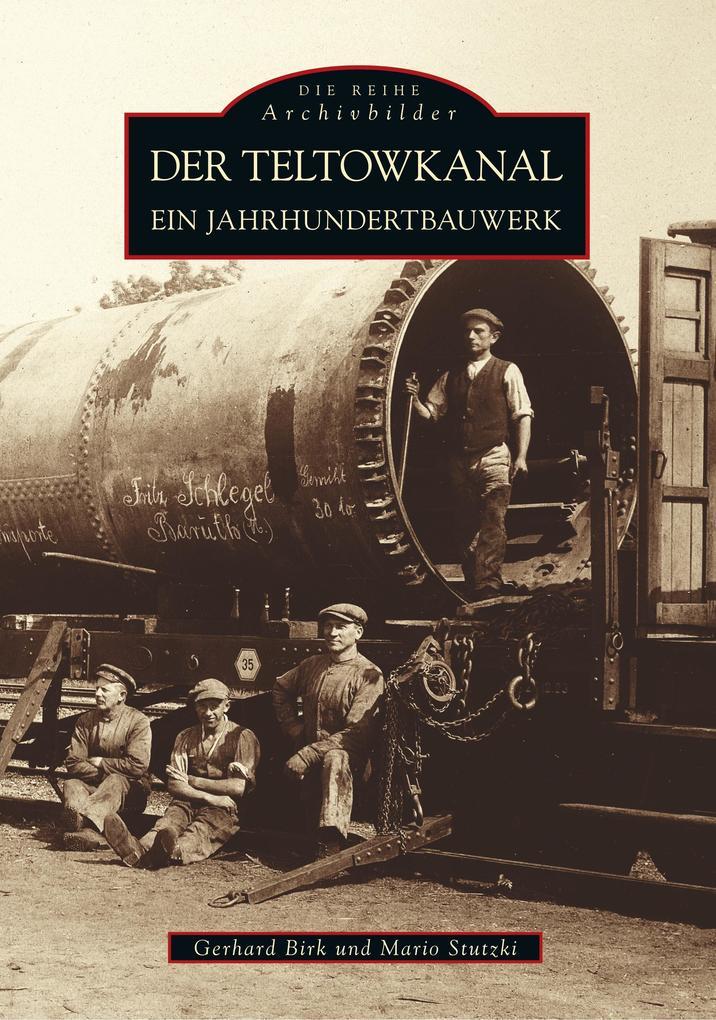 Der Teltowkanal als Buch (kartoniert)