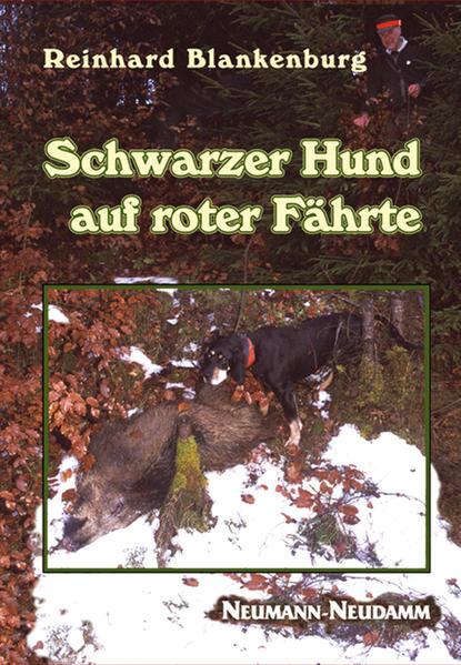 Schwarzer Hund auf roter Fährte als Buch