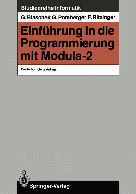 Einführung in die Programmierung mit Modula-2 a...