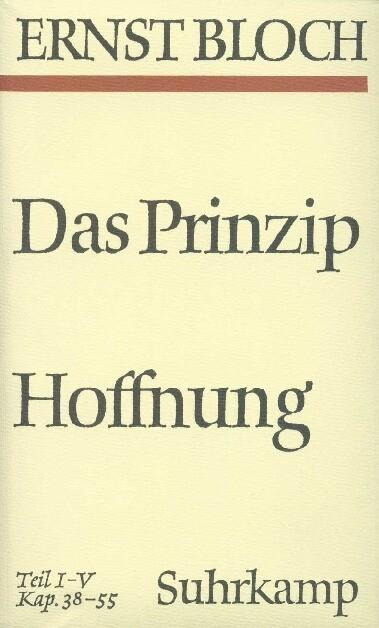 Das Prinzip Hoffnung als Buch