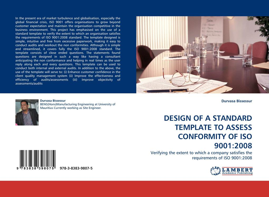 DESIGN OF A STANDARD TEMPLATE TO ASSESS CONFORM...