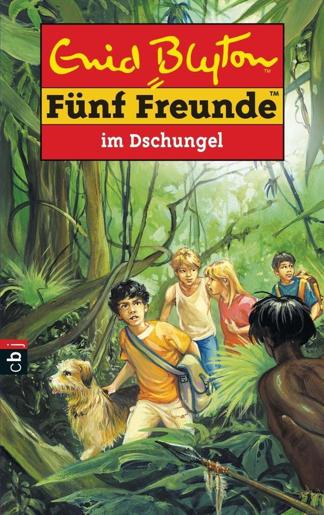 Fünf Freunde 35. Fünf Freunde im Dschungel als Buch
