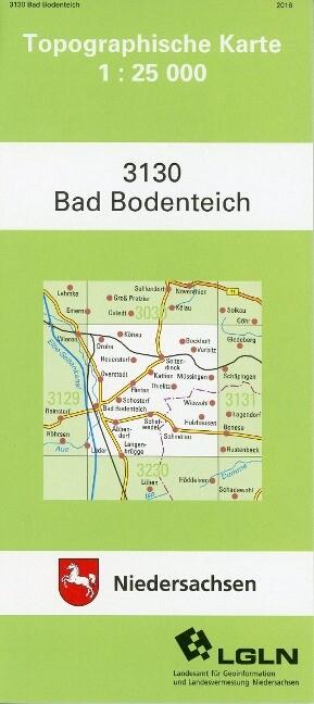 Bad Bodenteich 1 : 25 000 als Buch