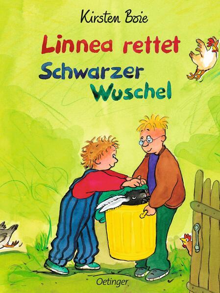 Linnea rettet Schwarzer Wuschel als Buch