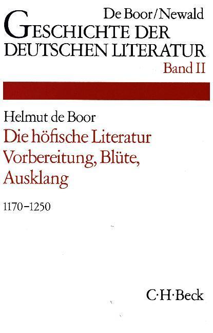 Die höfische Literatur als Buch