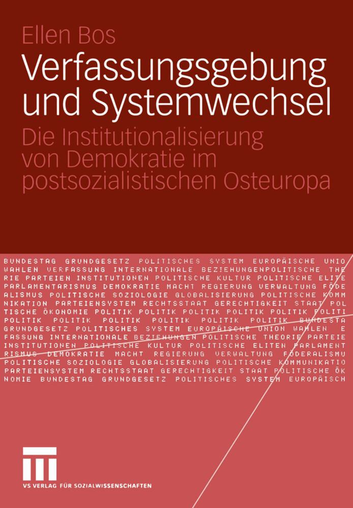 Verfassungsgebung und Systemwechsel als Buch (gebunden)