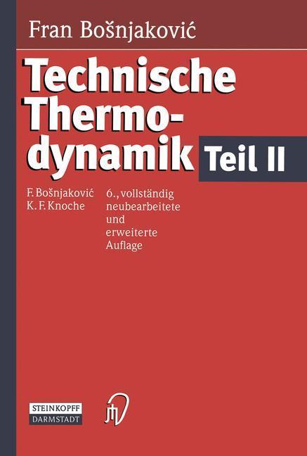Technische Thermodynamik Teil II als Buch