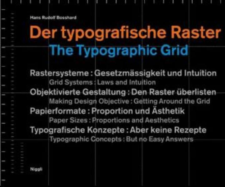 Der typografische Raster. The Typographic Grid als Buch