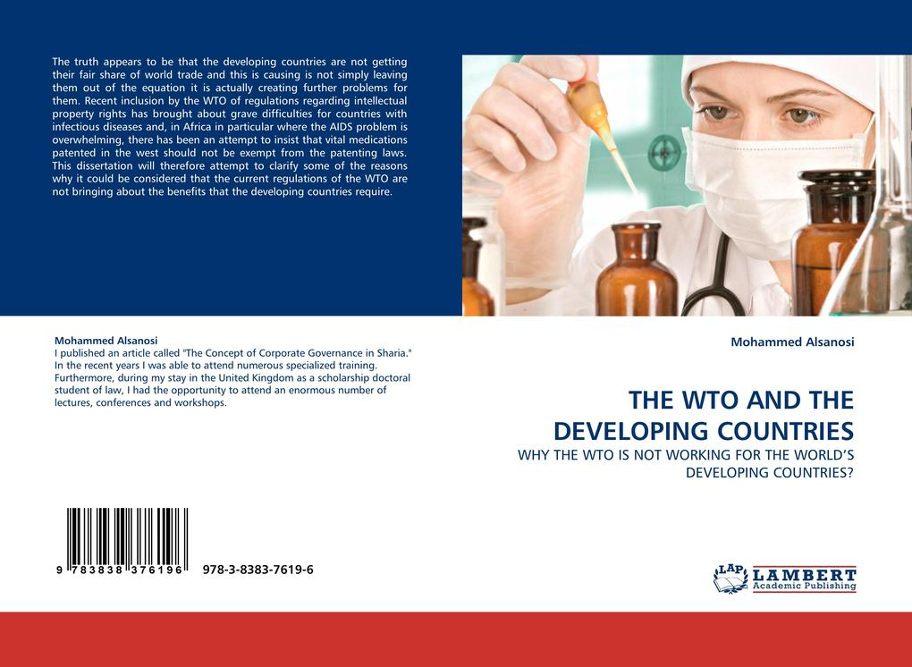 THE WTO AND THE DEVELOPING COUNTRIES als Buch von Mohammed Alsanosi - Mohammed Alsanosi