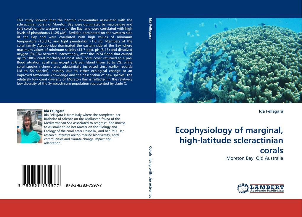 Ecophysiology of marginal, high-latitude scleractinian corals als Buch von Ida Fellegara - Ida Fellegara