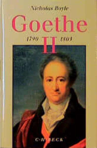 Goethe 1790 - 1803 als Buch