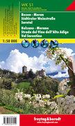 Freytag & Berndt Wander-, Rad- und Freizeitkarte Bozen, Meran, Südtiroler Weinstraße, Sarntal. Bolza