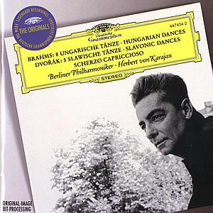 UNGARISCHE TÄNZE/SLAWISCHE TÄNZE als CD
