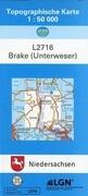 Brake (Unterweser) 1 : 50 000. (TK 2716/N)