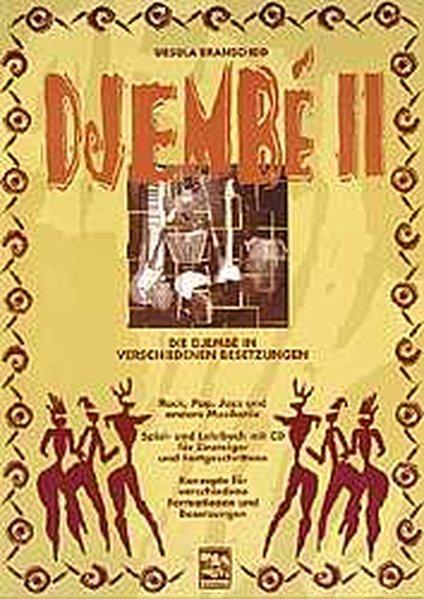 Djembe 2. Mit CD als Buch