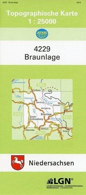 Braunlage 1 : 25 000. (TK 4229/N) als Buch