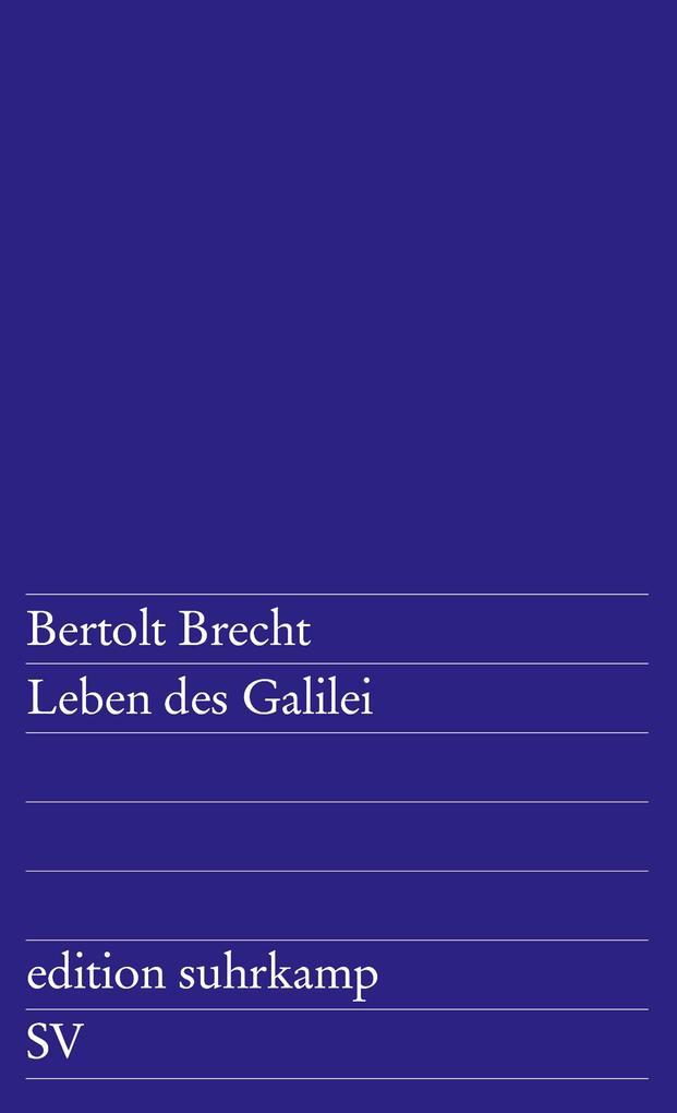 Leben des Galilei als Taschenbuch