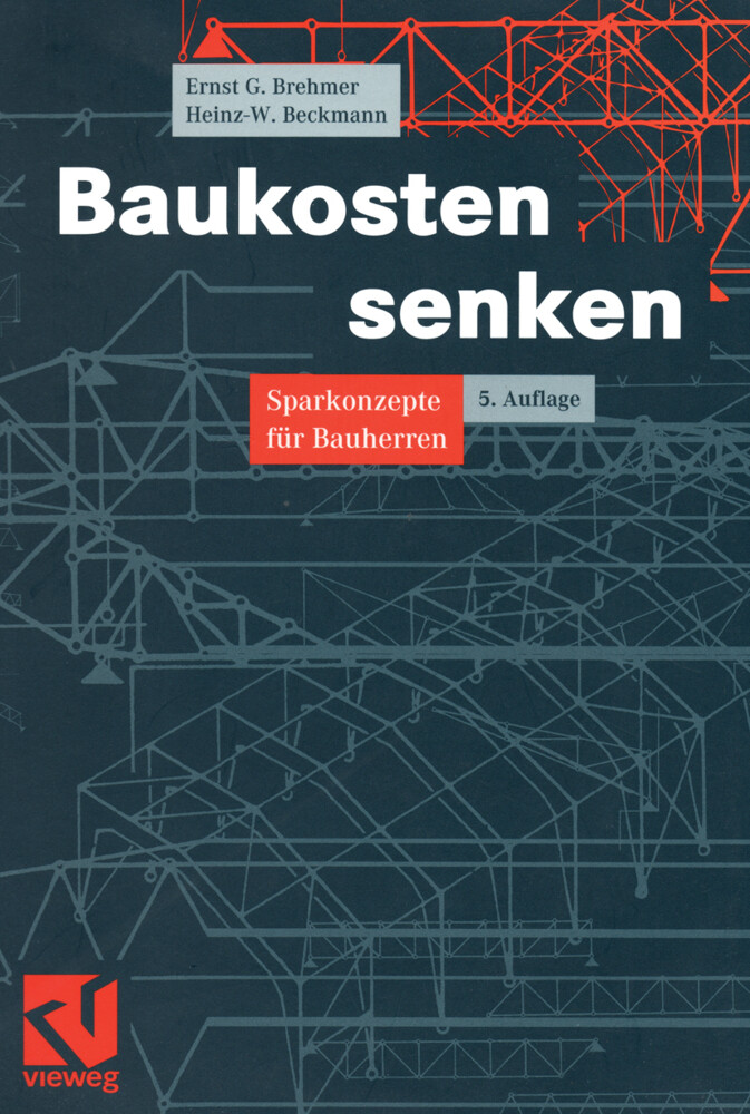 Baukosten senken als Buch
