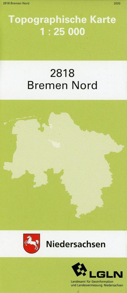 Bremen Nord 1 : 25 000 als Buch