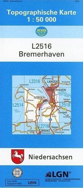 Bremerhaven 1 : 50 000 als Buch