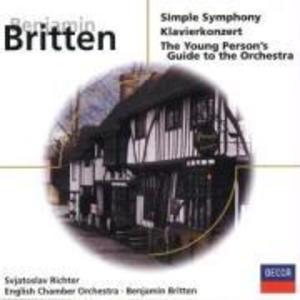 Simple Symphony/Klavierkonzert op.13 als CD