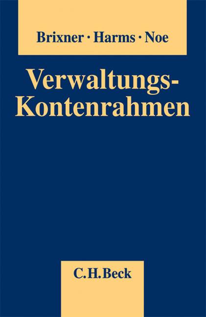 Verwaltungskontenrahmen als Buch