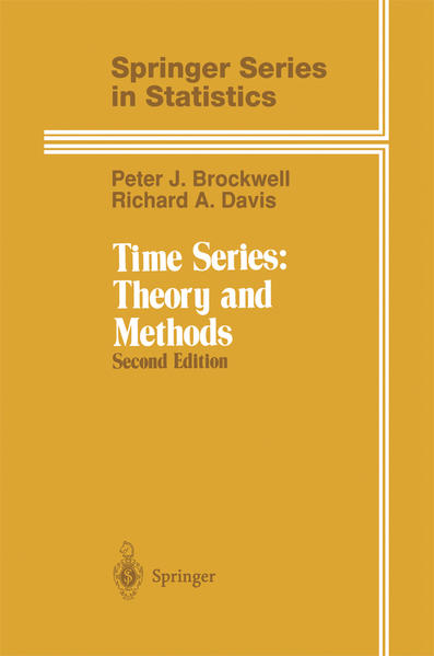 Time Series: Theory and Methods als Buch (gebunden)