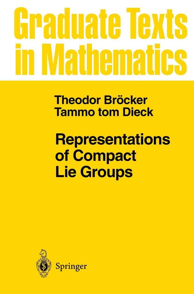 Representations of Compact Lie Groups als Buch