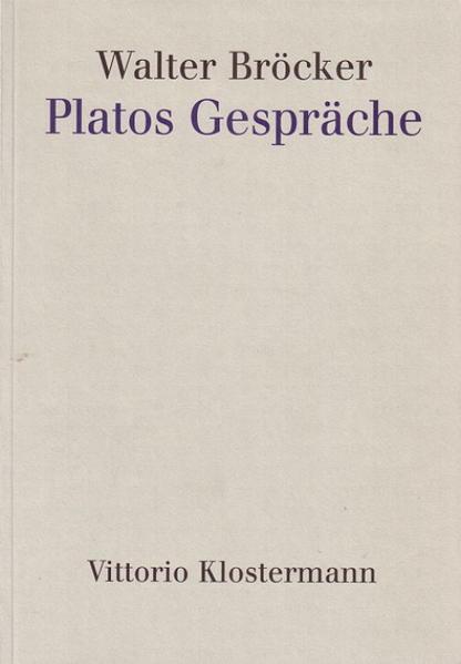 Platos Gespräche als Buch