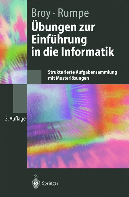 Übungen zur Einführung in die Informatik als Buch