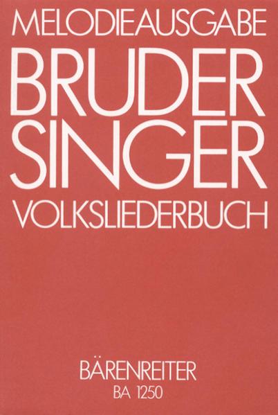 Bruder Singer als Buch