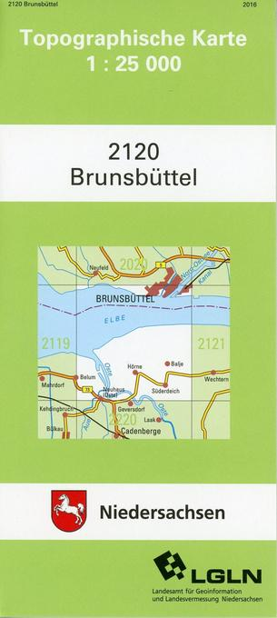 Brunsbüttel 1 : 25 000 als Buch