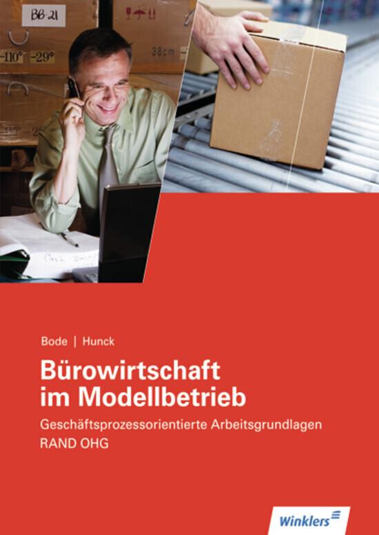 Bürowirtschaft im Modellbetrieb. RAND OHG. Arbeitsheft als Buch