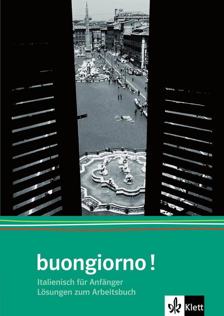 Buongiorno Neu. Lösungsheft zum Arbeitsbuch als Buch