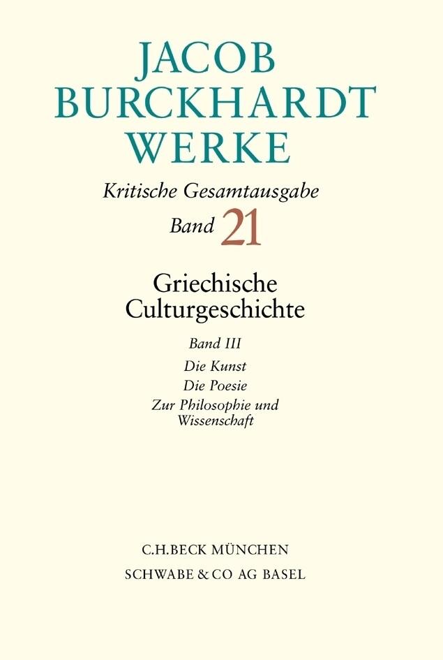 Griechische Culturgeschichte 3 als Buch