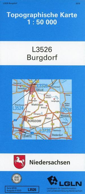 Burgdorf 1 : 50 000. (TK 3526/N) als Buch