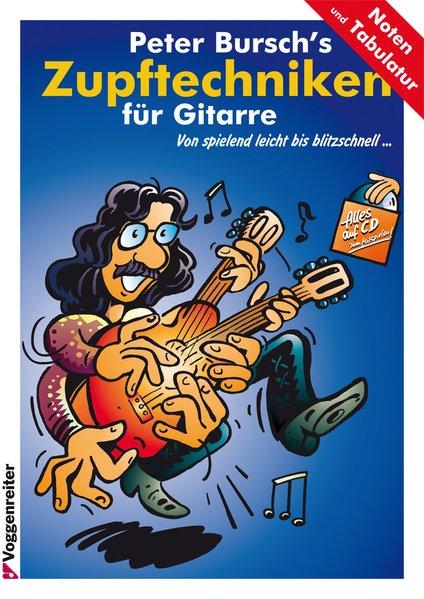 Peter Bursch's Zupftechniken für Gitarre als Buch