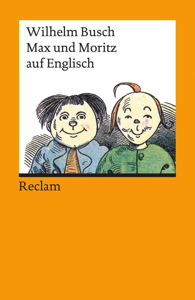 Max und Moritz auf englisch als Taschenbuch