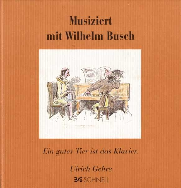 Musiziert mit Wilhelm Busch als Buch