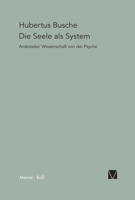 Die Seele als System als Buch