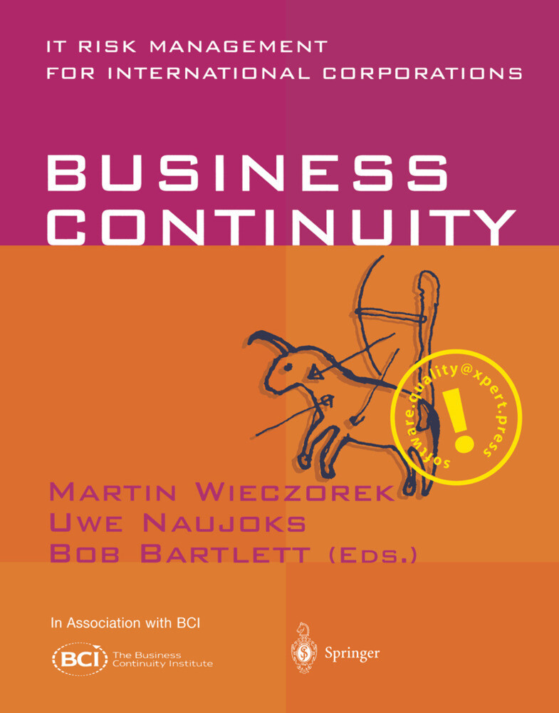 Business Continuity, English edition als Buch