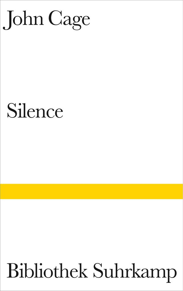 Silence als Buch