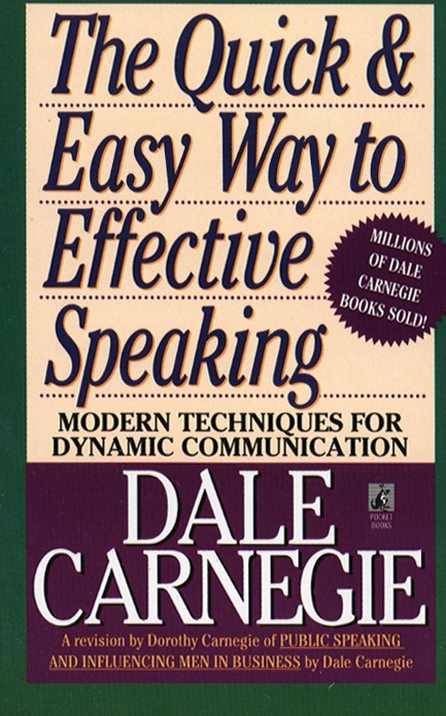 The Quick and Easy Way to Effective Speaking als Taschenbuch