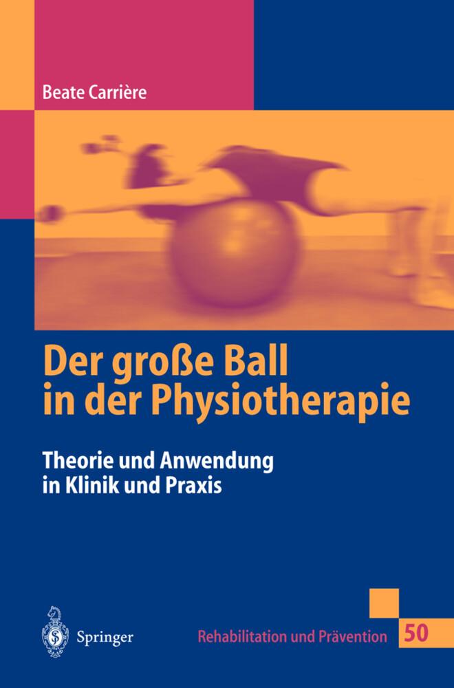 Der große Ball in der Physiotherapie als Buch