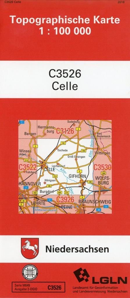 Celle 1 : 100 000. (TK C3526) als Buch