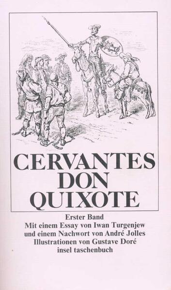 Der scharfsinnige Ritter Don Quixote von der Mancha als Taschenbuch