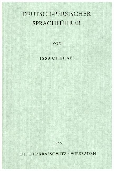 Deutsch - Persischer Sprachführer als Buch