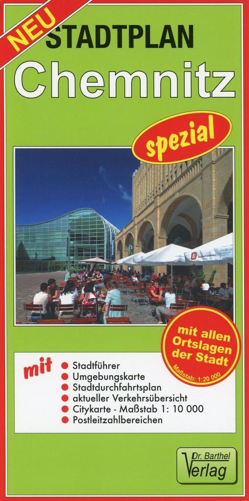 Stadtplan Chemnitz spezial 1 : 20 000 als Buch von