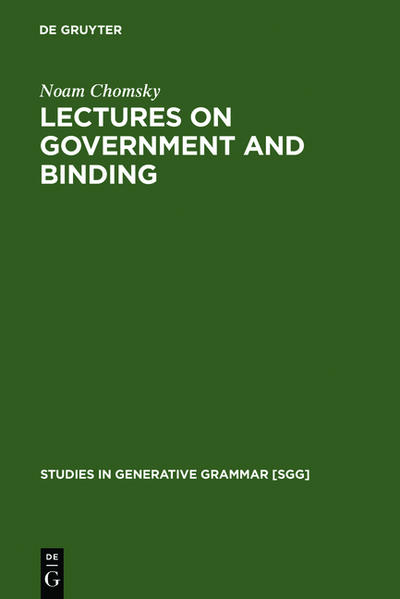Lectures on Government and Binding als Buch
